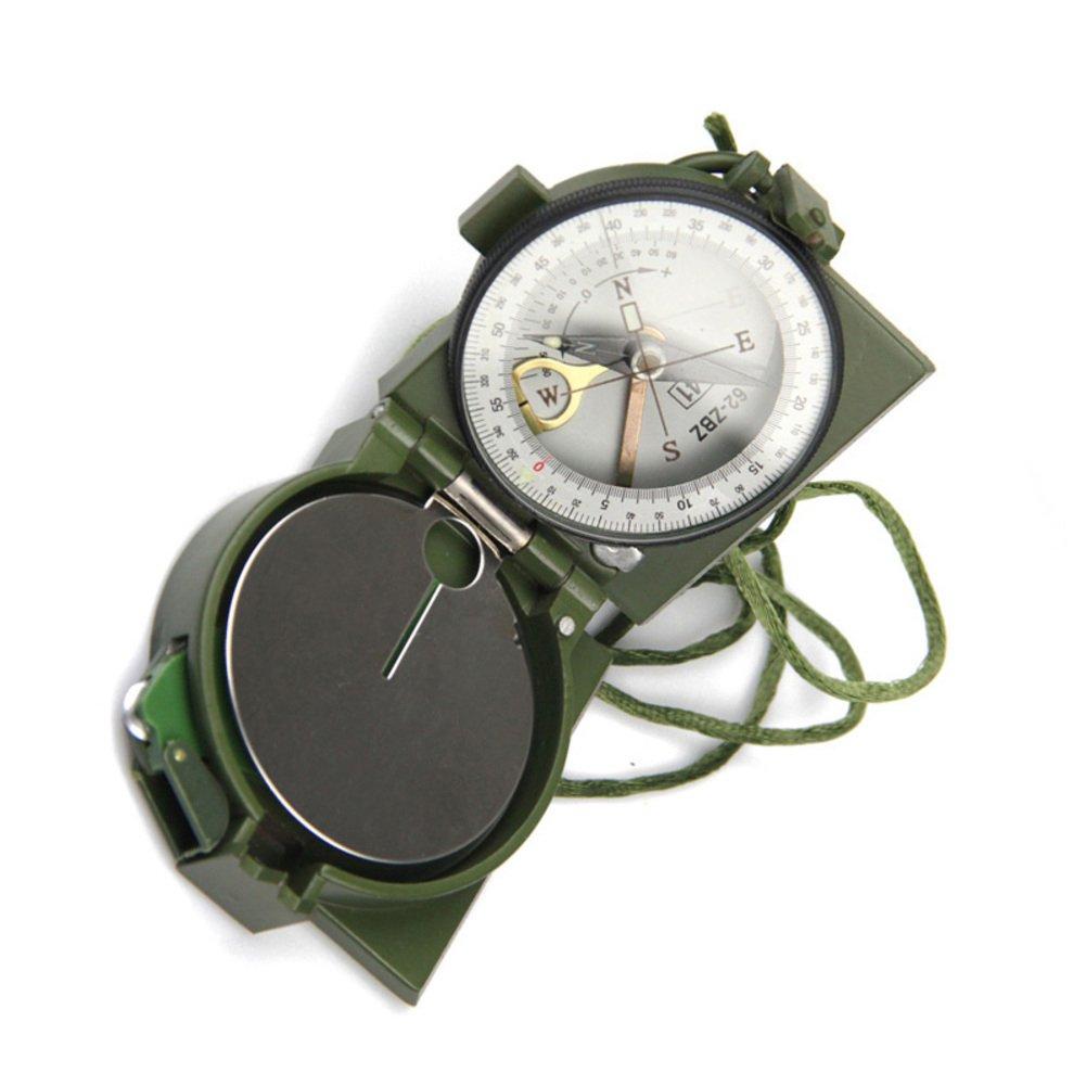 YUNJIE Professionelle Multifunktions Militär Armee Metall Sichtung Kompass,Wasserdicht und Rüttelfest Hohe Genauigkeit Outdoor Camping Wandern Militärische Nutzung Geschenke