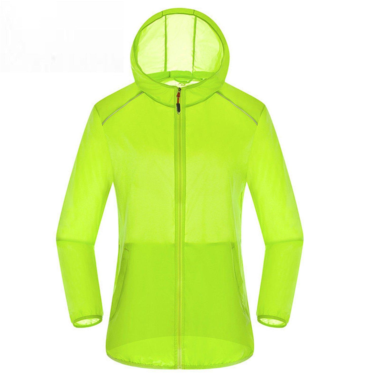 Ultra Light Basic Jacket Women Men Waterproof Coat Summer Windbreaker Girls Female Jackets Hooded Orange S at Amazon Mens Clothing store: