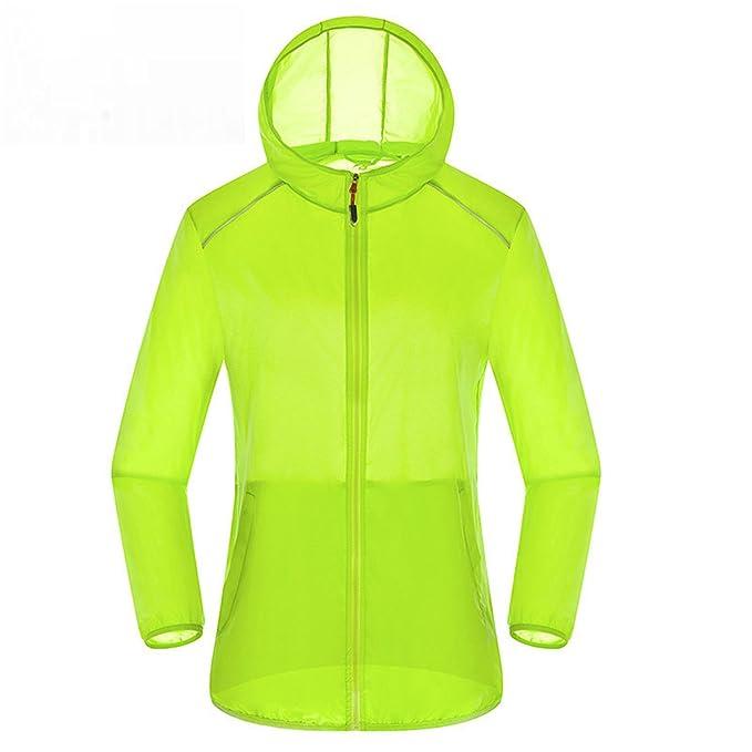 Ultra Light Basic Jacket Women Men Waterproof Coat Summer Windbreaker Girls Female Jackets Hooded Orange M at Amazon Mens Clothing store: