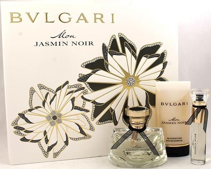 Bvlgari Mon Jazmín Noir edp 50 ml + 75 ml SG + 10 ml edp