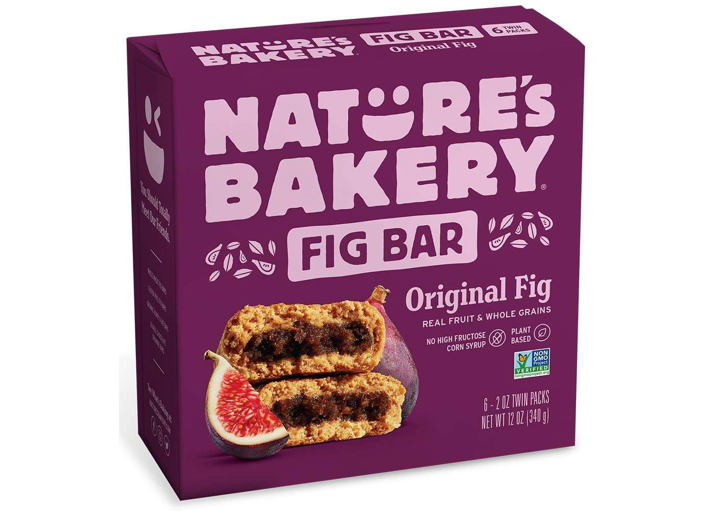 Nature's Bakery Original Real Fruit, Whole Grain Fig Bar - 6 ct. (12 oz.) by Nature's Bakery FB
