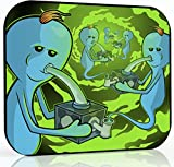 (US) 8x10 inch Rick and Morty Dab Mat - Eternity of Meeseeks - Mousepad Style Dabmat | Dabpad | Rigmat | Dabmatz