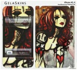 GelaSkins Protective Skin for the iPhone 4 Devil Woman with Access to Matching Digital Wallpaper Downloads