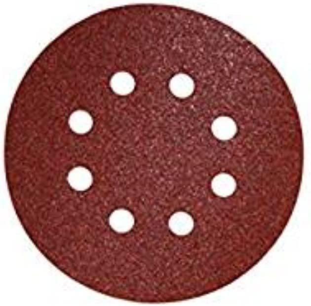 10, 600 SHINA 5 8 trous disques abrasif auto-agrippant Ponceuse Polisseuse Girafe 125mm papier 60-2000