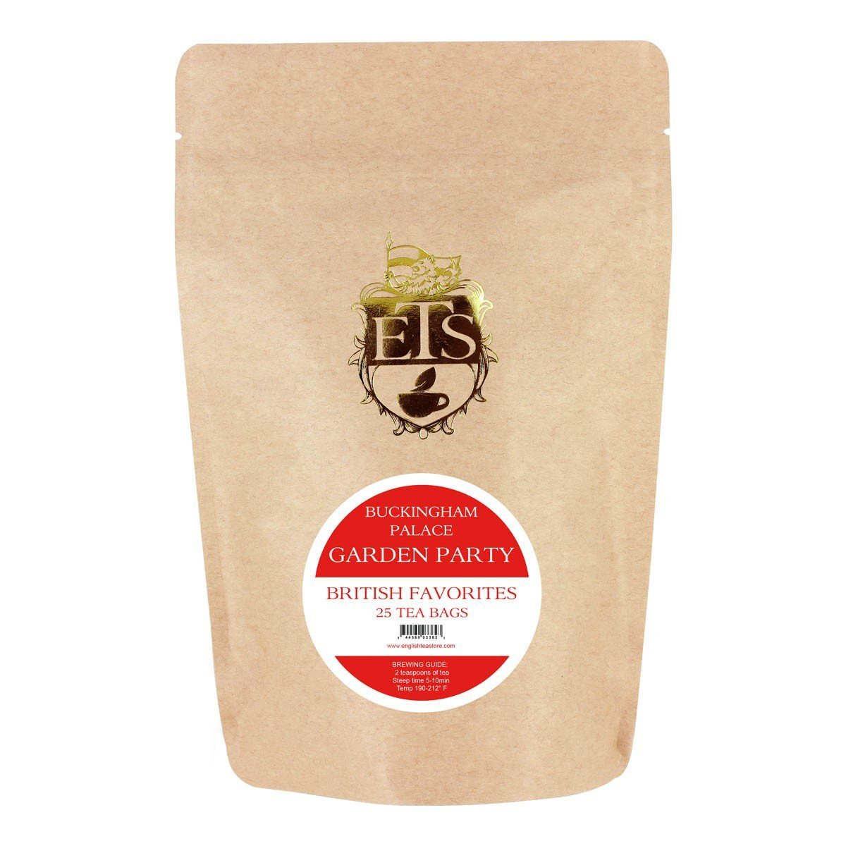 Buckingham Palace Garden Party Tea Bags - 25 Teabag Pouch