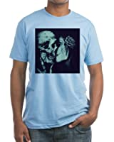 CafePress - Goth Halloween T-Shirt - Fitted T-Shirt, Vintage Fit Soft Cotton Tee