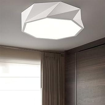 Moderno minimalis Mesas plafón Creatividad LED 24 W Lámpara ...
