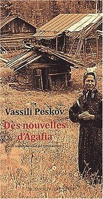 Des nouvelles d'Agafia par Peskov