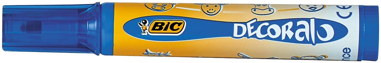 BIC Kids 946442 FasermalerDECORALO 8 St/ück 8-farbig sortiert