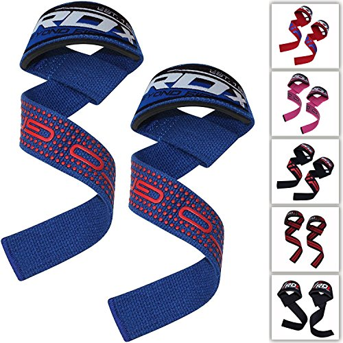RDX Gym Straps Weight Lifting Crossfit Wrist Support Wraps Hand Bar Bodybuilding Training Workout