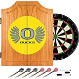 Trademark Gameroom University of Oregon Wood Dart Wings Cabinet Set