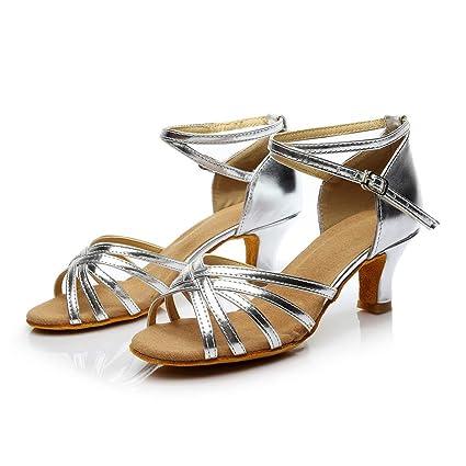 cc09e5673e9dc Amazon.com: Women's Sandals Bummyo Women's Color Fashion Rumba Waltz ...