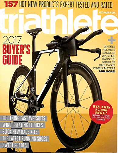 Triathlete Magazine Spring 2017 BUYERS GUIDE, Wetsuits, TT Bikes, Race - Wetsuits Triathletes For
