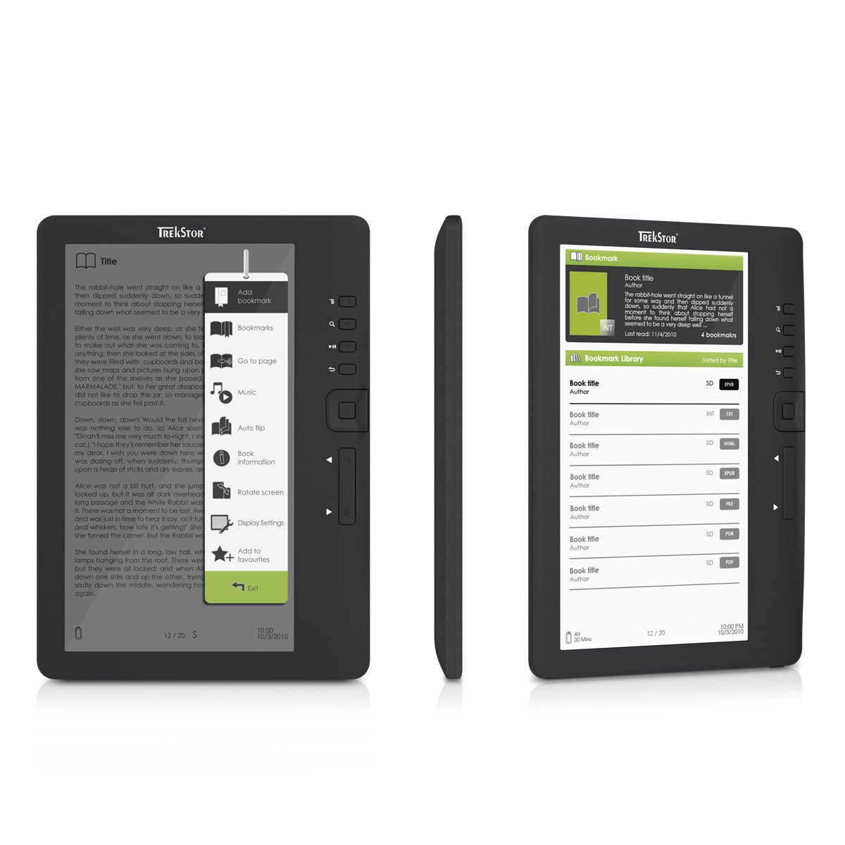 Trekstor Reader 3.0 - Lector eBooks de 7