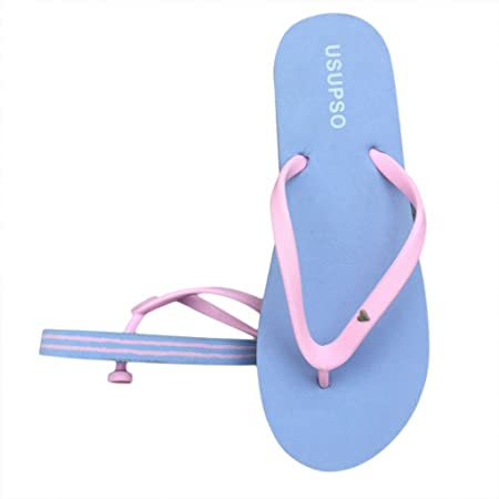 41a37558b834 JAGENIE Fashion Women Slippers Flip Flops Beach Sandals Candy Color Ladies  Shoes Sky Blue 37  Amazon.co.uk  Kitchen   Home
