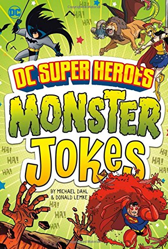 DC Super Heroes Monster Jokes (DC Super Heroes Joke Books) by Stone Arch Books