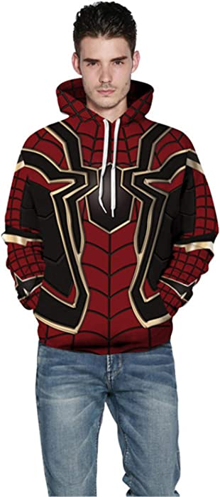 e7aa47ae 2019 Avengers Infinity War Spiderman Hoodie Iron Spider-Man Coat Jacket