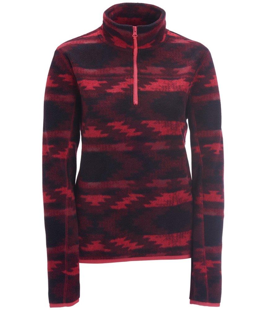 Aeropostale Womens Printed 1/4 Fleece Vest 661 L