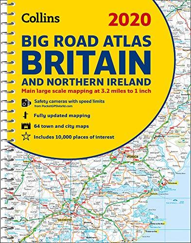 2020 Collins Big Road Atlas Britain and Northern Ireland...