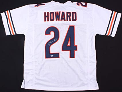 buy online bc34f 0a263 Jordan Howard Autographed Signed Chicago Bears White Jersey ...