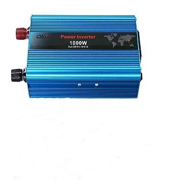1000W Inversor de Corriente DC 12V a AC 220V Convertidor de ...