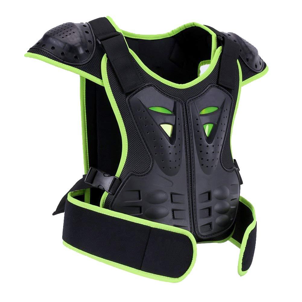 BARHAR Kids Dirt Bike Body Chest Spine Vest Protective Gear for Snowboarding (L) GJ070