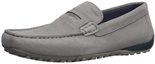 Geox Mens Snake MOC 20 Moccasin Stone 41.5 M EU (8.5 ...