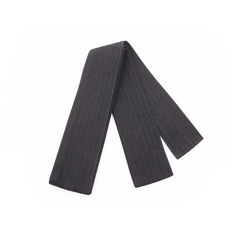 Cintur/ón Negro 100/% Algod/ón Suave Negro de 320cm x 8cm de Ancho para Kendo Shihan Kimono Aikido