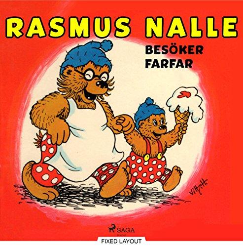 Rasmus Nalle besöker farfar (Swedish Edition)