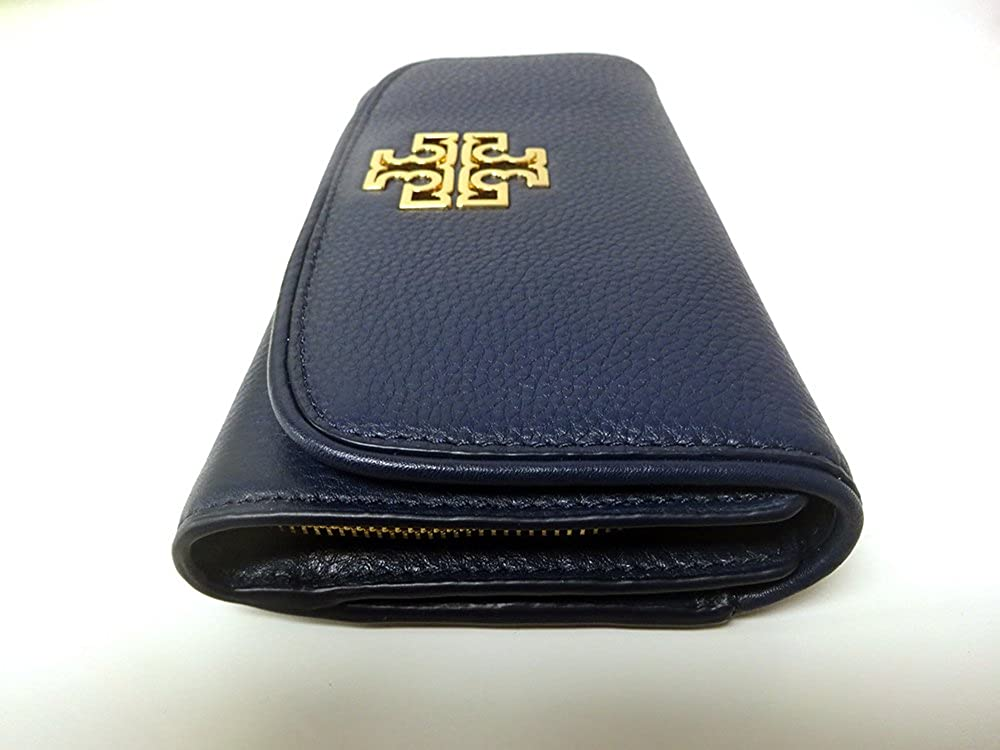 bed53a048626a Tory Burch Britten Duo Envelope Continental Wallet in Hudson Bay  Amazon.co. uk  Clothing