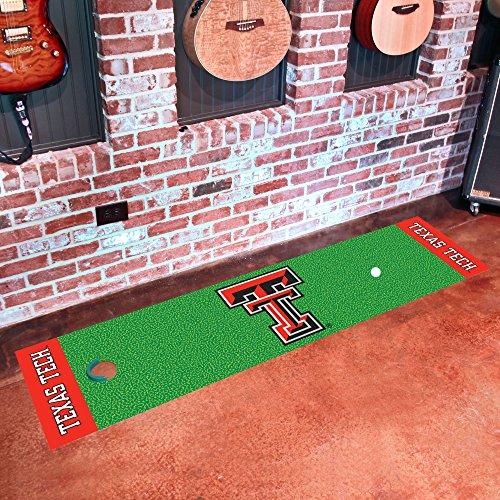 Texas Tech University Putting Green Mat for Golf Fans