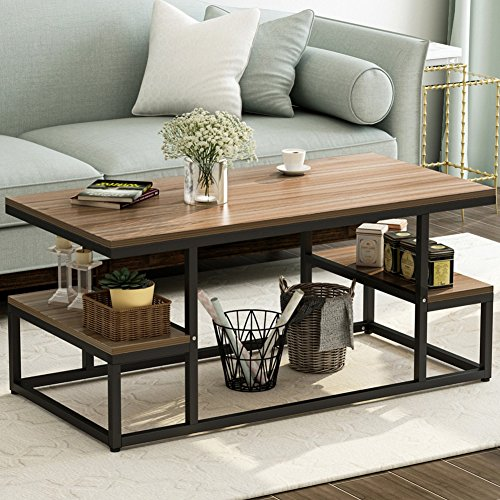 Tribesigns Modern Coffee Table, 48