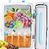 OJA Outdoor Compact Refrigerator Freezer, 12L Capacity 12V Mini...