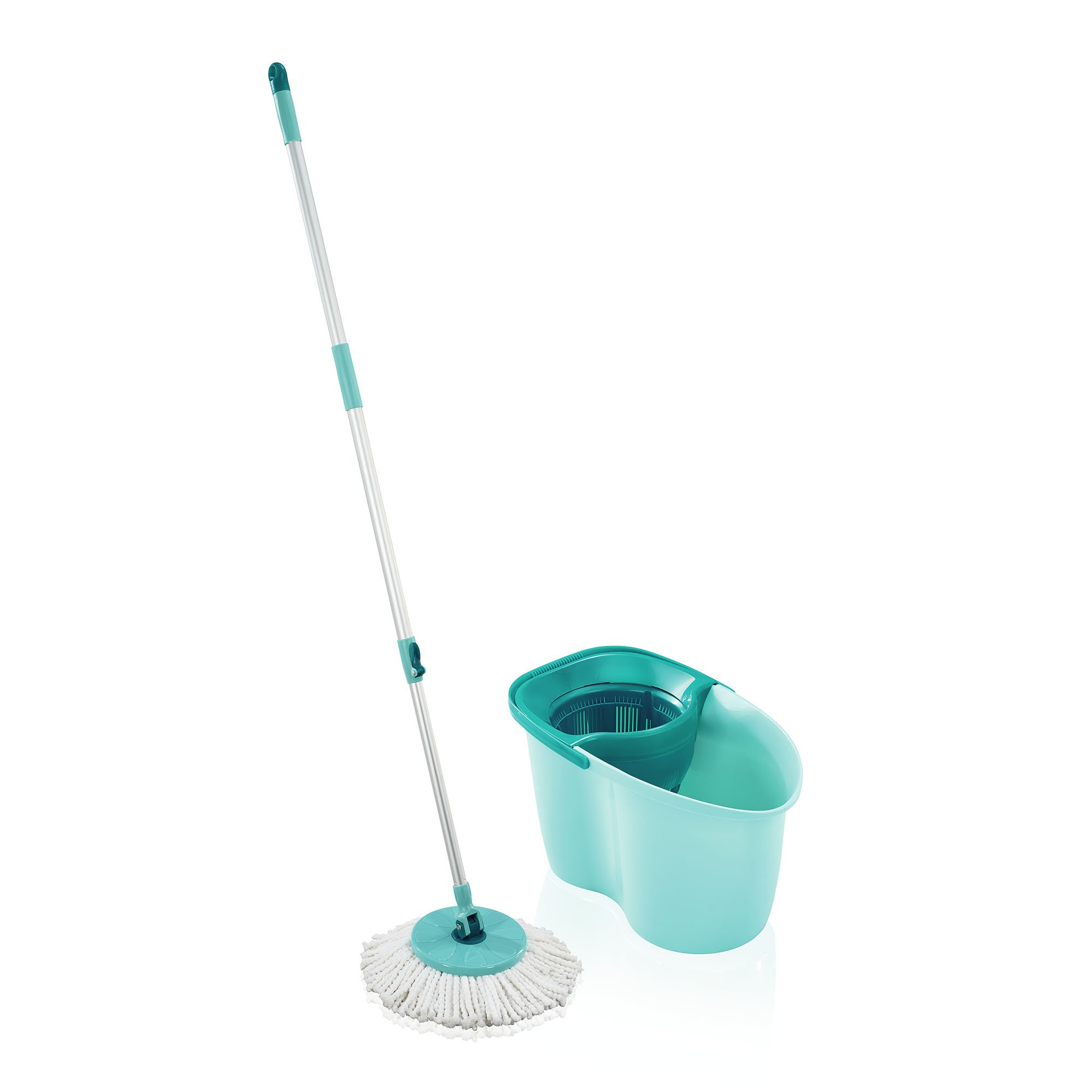 Leifheit 56793 Clean Twist Active Spin Mop and Bucket Set