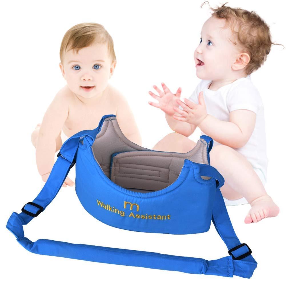 Handheld Asistente de Camiar Bebe Baby Walker Toddler Walking Assistant Nino del Bebe Aprenda a Caminar Cinturon Andador Asistente Arnes de Seguridad ...