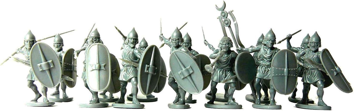 Victrix VXA024 - Infantería Numidiana - Conjunto De 24 Figuras - Miniaturas De Plástico De 28 mm - Guerrero De La Antigüedad: Amazon.es: Juguetes y juegos