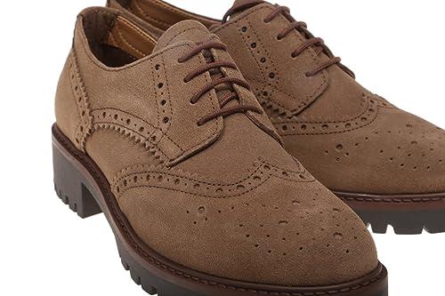 Rebecca Hope Zapatos Oxford -Color Marrón-Mujer-con Cordoneras-Talla40 9257b0f940a7