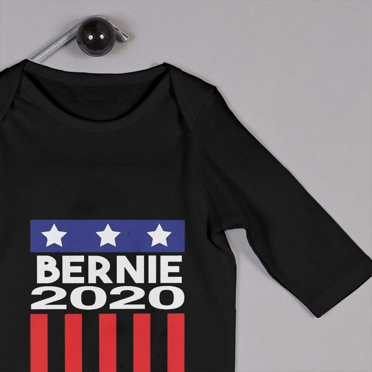 MiNgosRY Bernie Sanders 2020 Newborn Baby Long Sleeve Bodysuits Rompers Outfits