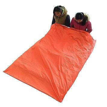 Amazon.com : Double Sleeping Bag Portable Outdoor Camping Travel Hiking Bag Warmer Sleeping Bags 200 145cm : Sports & Outdoors