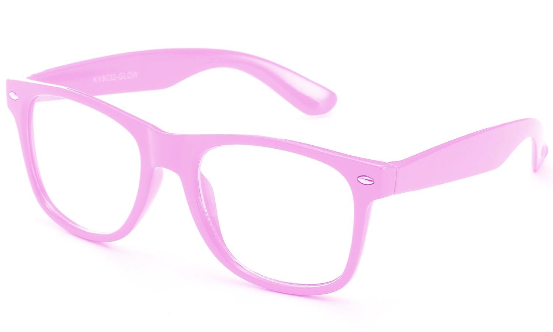Newbee Fashion Clear Lens ボーイズ  Cn2 Pink B06Y44BRBV