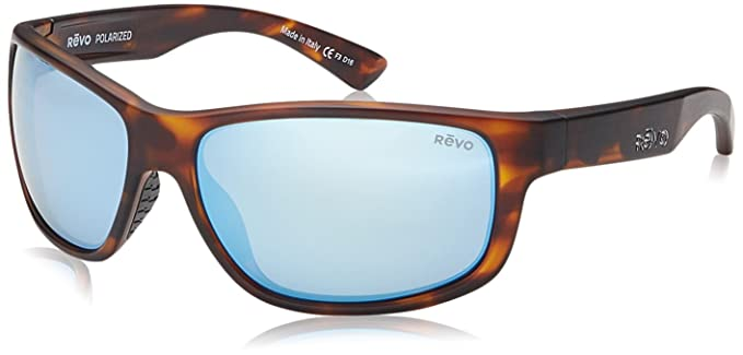 5a5e4cef5f Image Unavailable. Image not available for. Colour  Revo Baseliner RE 1006  Polarized Wrap Sunglasses ...