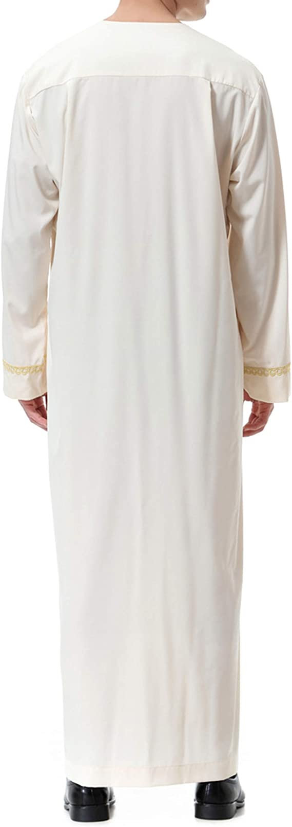 Ropa Abaya Maxi Vestidos Islamic-Hombre de Caftán Camisa Arabe Kaftan Manga Larga: Amazon.es: Ropa y accesorios