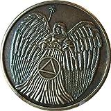Guardian Angel Circle Triangle AA Medall