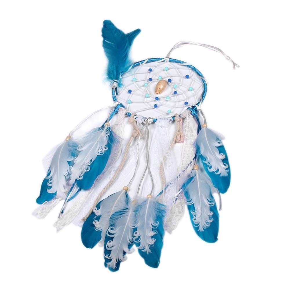 parfait pour la d/écoration de mariage//mur d/écoration /à la maison voiture Capteur de r/êves fait main /à plusieurs styles avec des plumes