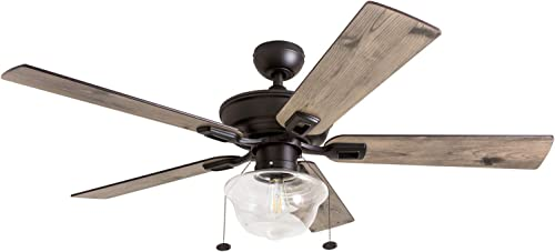 Prominence Home 80091-01 Abner Vintage Indoor/Outdoor Ceiling Fan