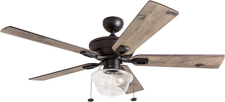 Prominence Home 80091-01 Abner Vintage Ventilador de techo para ...