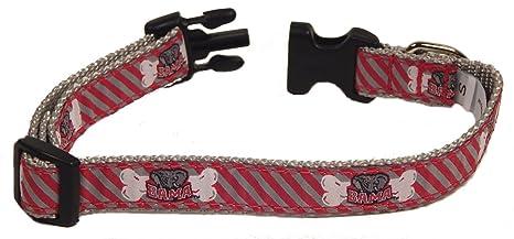 ad5abd4be83 Amazon.com : NCAA Alabama Crimson Tide Mascot Dog Collar : Sports ...