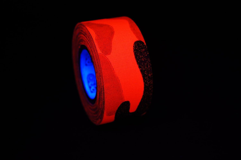 Naranja neón 1 Inch Blacklight reactiva fluorescente Cool ...