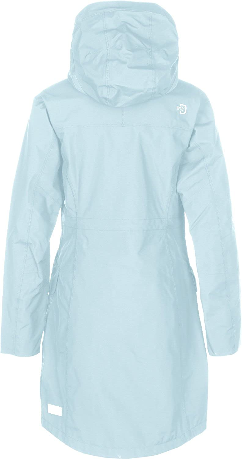 Didriksons Ladies Thelma Coat Clear Blue