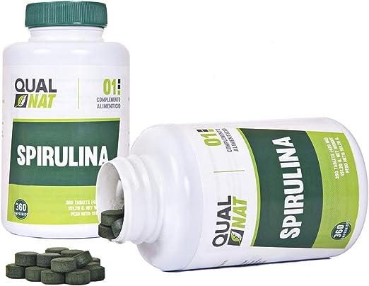 Espirulina Comprimidos | Saciante + Proteina + Vitaminas | Más ...